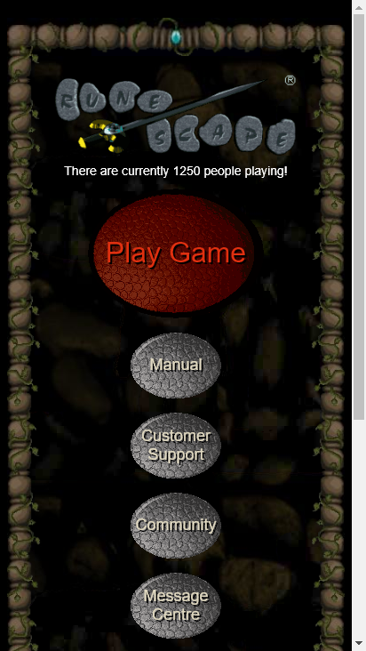 Screenshot mobile - https://rscturmoil.com/