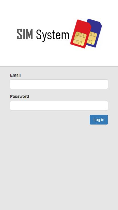 Screenshot mobile - https://sim.ruizclick.com/Account/Login?ReturnUrl=%2F