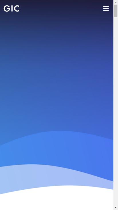 Screenshot mobile - https://solution.gicjp.com/