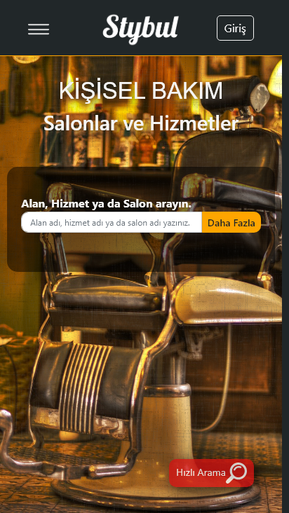 Screenshot mobile - https://stybul.com/