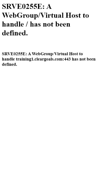 Screenshot mobile - https://training1.cleargoals.com/