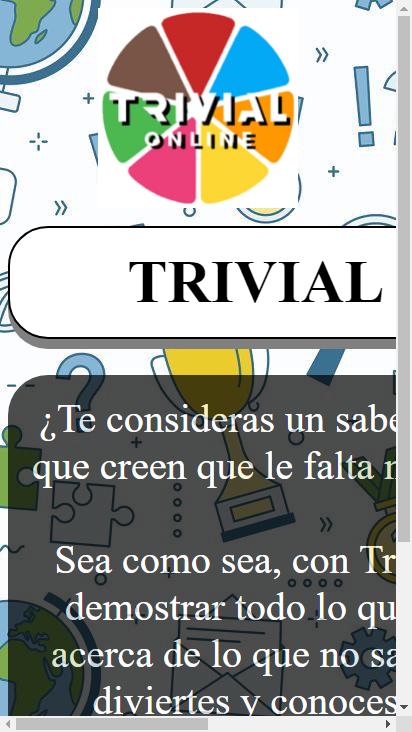 Screenshot mobile - https://trivial-online.cu.ma/