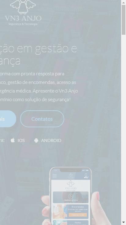 Screenshot mobile - https://vn3anjo.com.br/br/