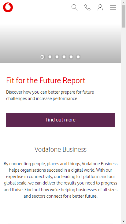 Vodafone Com Business Make Your Website Better Dns Redirects Mixed Content Certificates