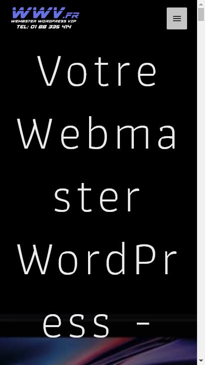Screenshot mobile - https://www.webmaster-wordpress.fr/