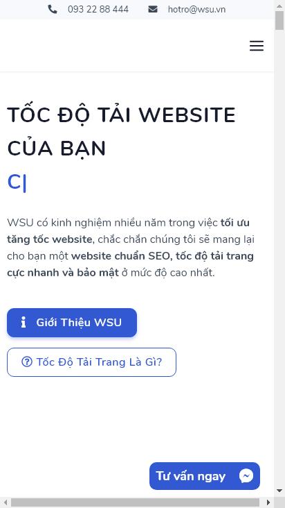 Screenshot mobile - https://wsu.vn/